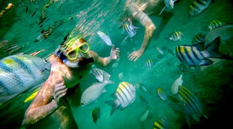 Santa Maria and Chileno Bay Kayaking and Snorkeling Tour