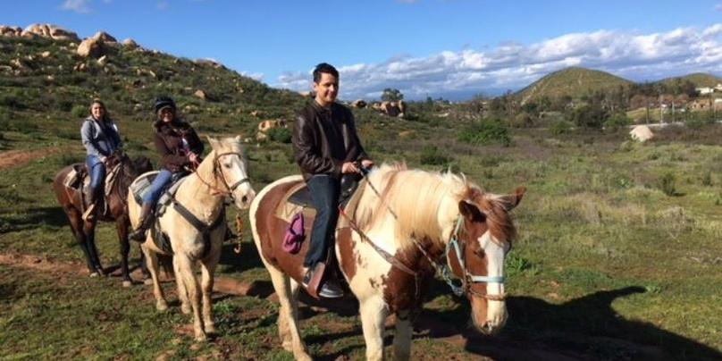 One-Hour Horseback Ride With Wine Tasting in Murrieta