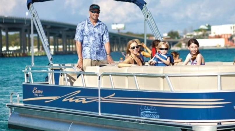 Full-Day Destin Marina Boat Rental