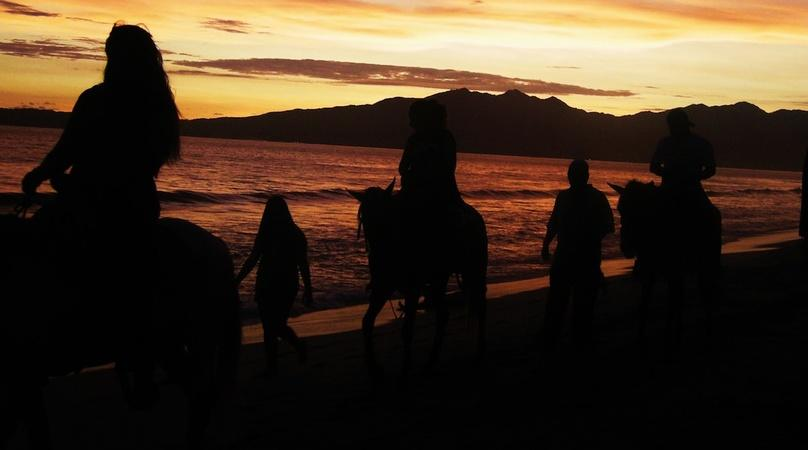 Sunset Horseback Beach Adventures in Todos Santos