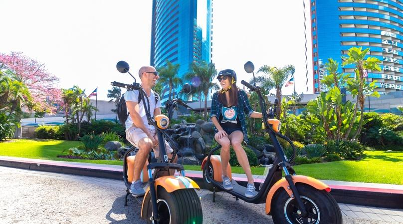 2-Hour Old Town Scooter Tour