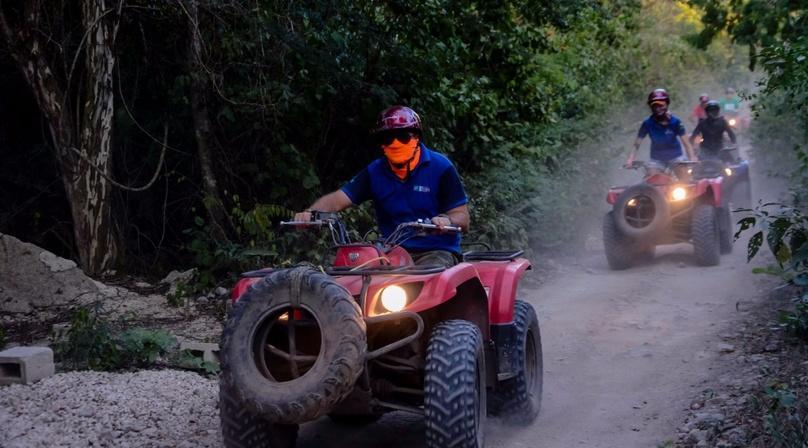 Nighttime ATV Adventure in Tulum