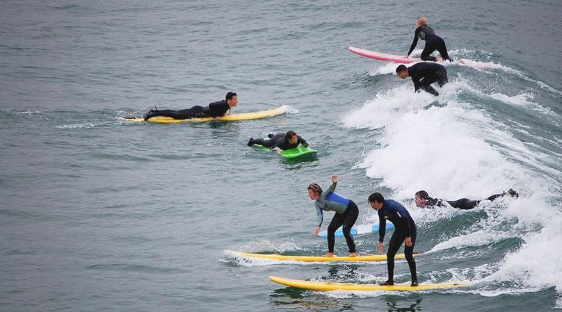 90-Minute Beginner Group Surf Class in Bolinas