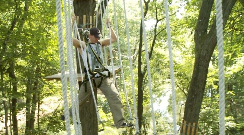 Aerial Adventure Park in South Windsor