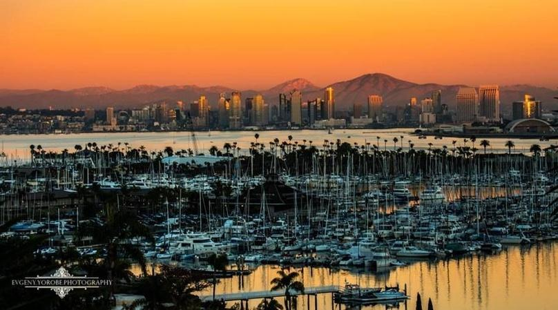 Private San Diego Couples Sunset Sailing Cruise