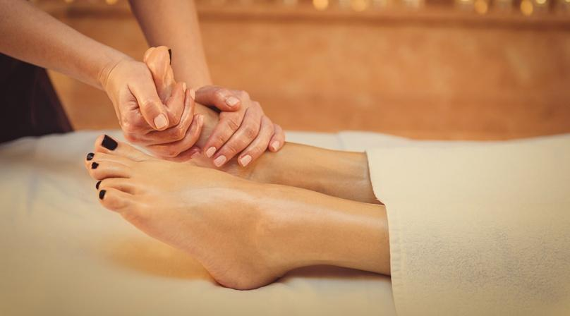 45-Minute Foot Massage in our Massage Room