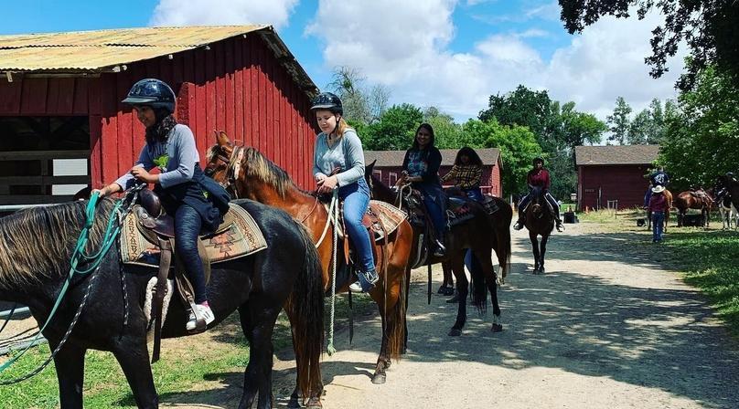 Guided Private Horseback Trail Ride in Sacramento