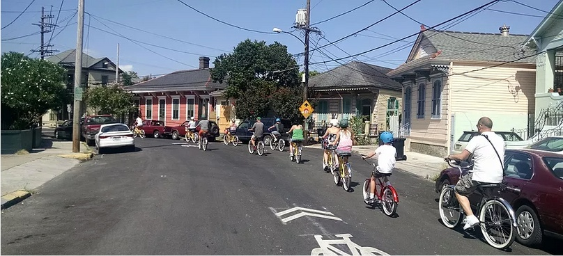 New Orleans Big Easy Electric Bike Tour