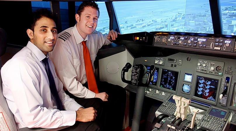 London One Hour Flight Simulator Lesson