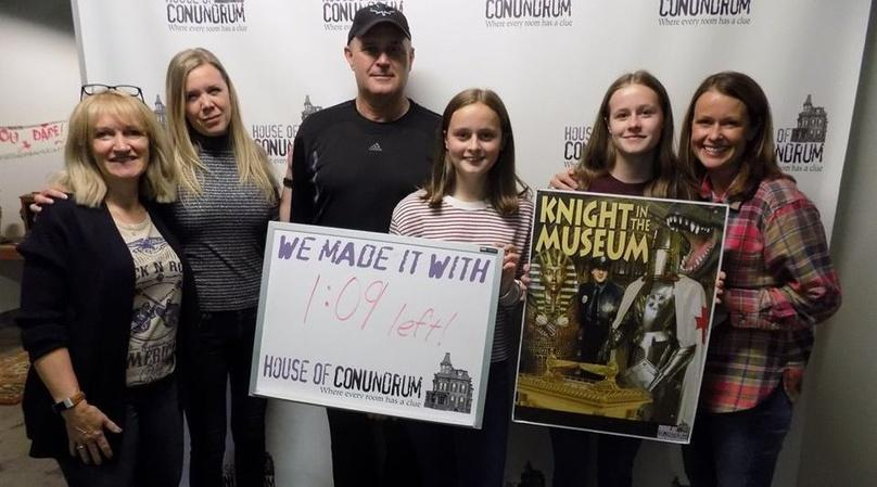Knight in the Museum Escape Room in Omaha