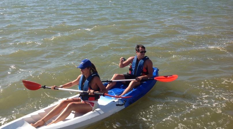 Tandem Kayak Moonlight Schuylkill River Tour