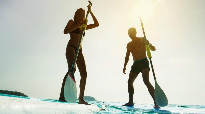 Full-Day Stand-Up Paddleboard Rental in Sunny Isles Beach