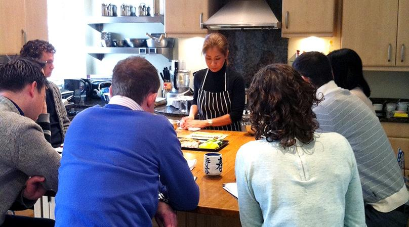 London Private Japanese Cooking Class