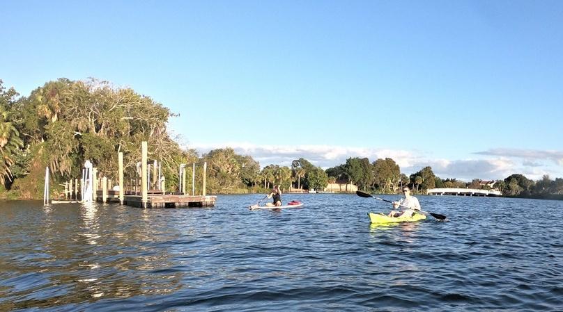 2-Hour Triple Kayak Rental and Manatee Viewing