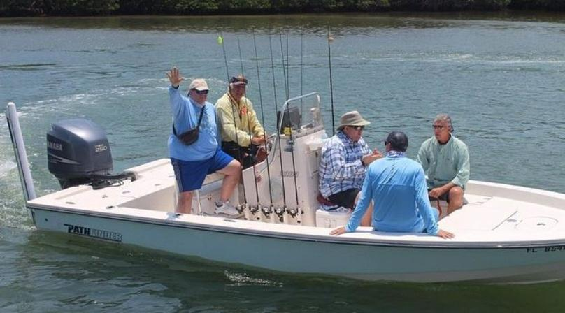 Half-Day Fishing Charter on Rose Bay