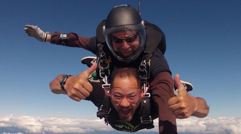 10,500ft Tandem Skydive in Toledo