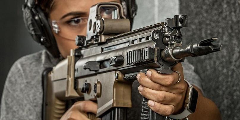 Shooting Practice in Las Vegas with Custom Firearm Package