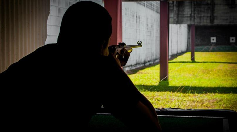 Shooting Range with WWII Guns in Las Vegas