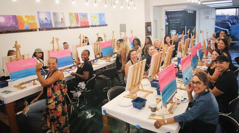 Painting Class in Fullerton - 18+ Session