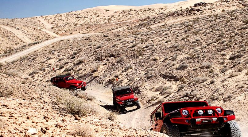 Nellis Apex Sand Dunes Jeep Run