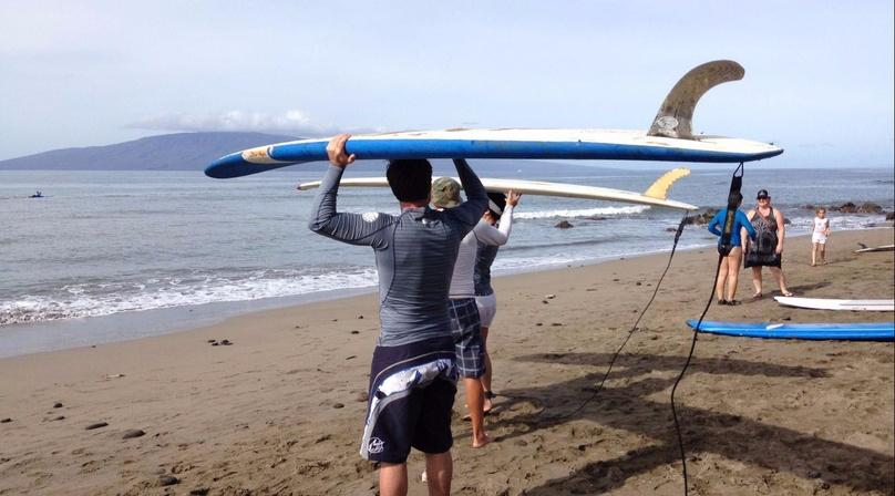 Two-Hour Maui Group Surf Lesson