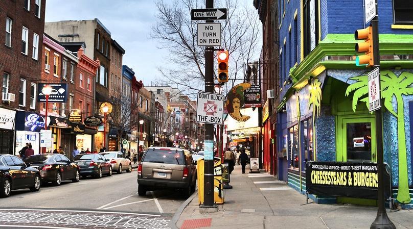 Pedicycle Pub Crawl in South Street