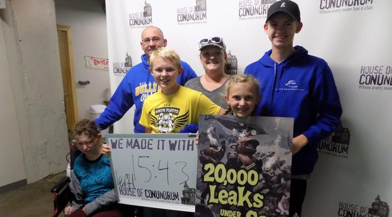 20,000 Leaks Under the Sea Escape Game