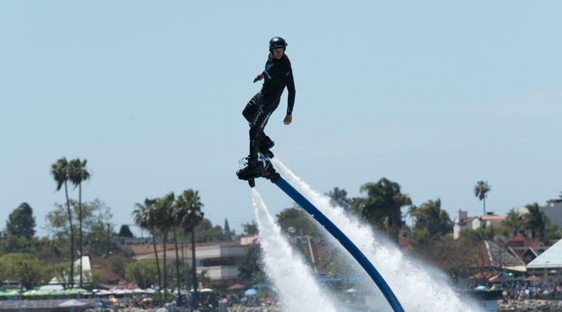Four-Person Flyboard Adventure in Boca