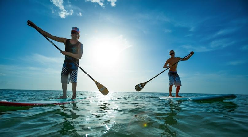 1-Hour Miami Beach Stand-Up Paddleboard Rental
