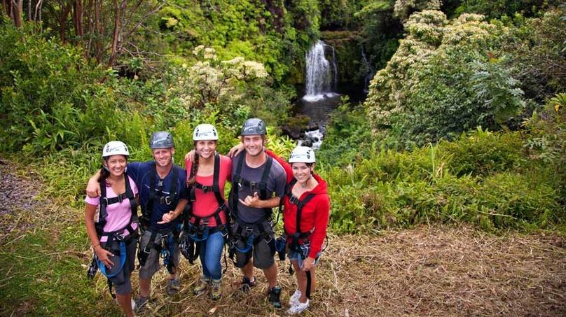 Akaka Falls Zip Line Tour