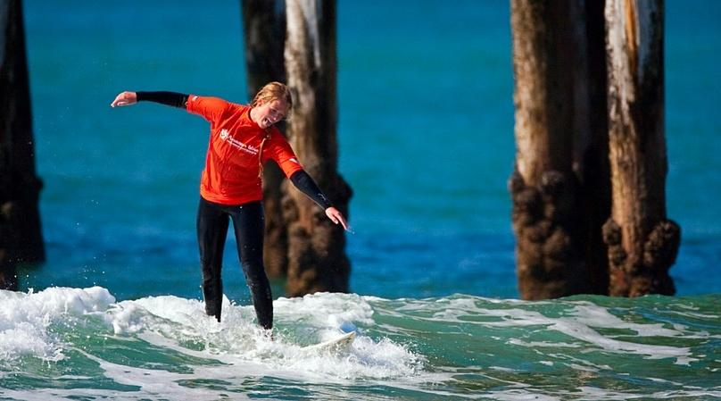 2-Hour Winter Surf Session