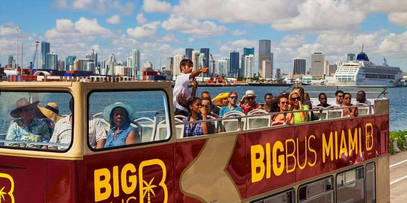 Classic Hop-On Hop-Off Bus Tour of Miami