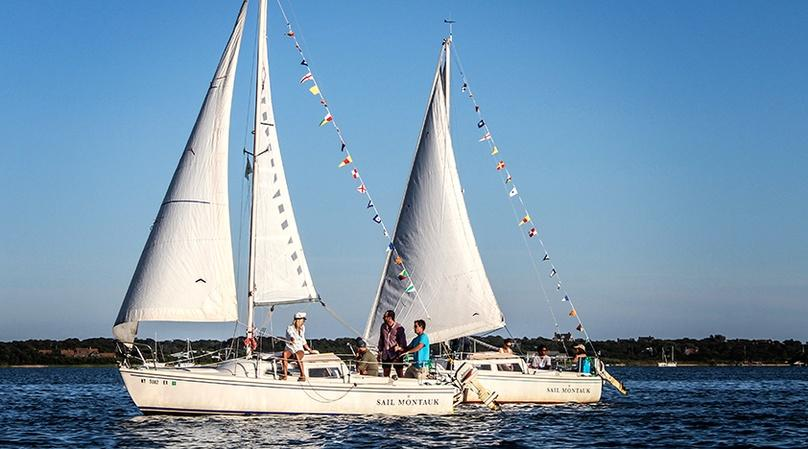 Montauk Harbor Private Sailing Lesson