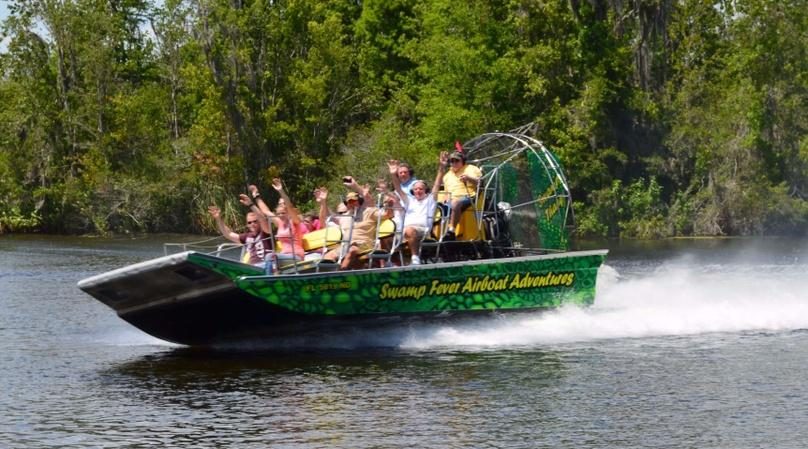 One-Hour Airboat Ride on Lake Panasoffkee