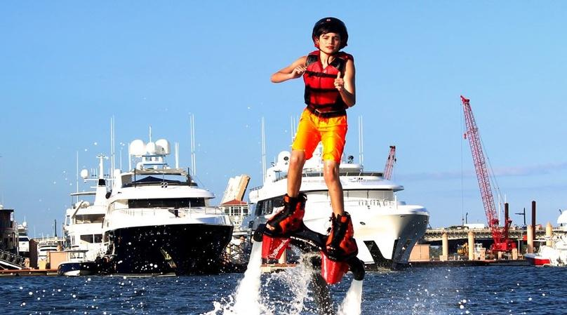 Jetpack Session on Lake Boca