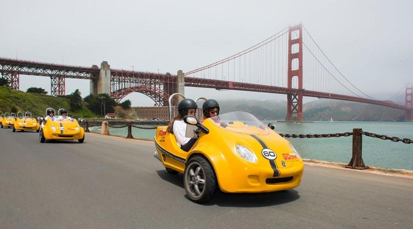 3-Hour Golden Gate Park & More GoCar Tour