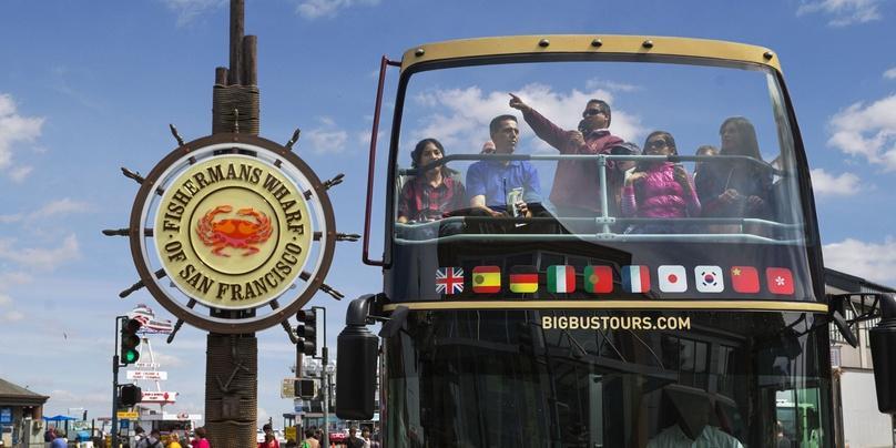 Premium Hop-On Hop-Off San Fran Bus Tour Plus Chinatown and Sausalito Tour