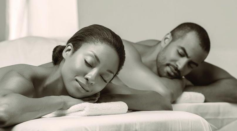 Couples Massage in Massage Room
