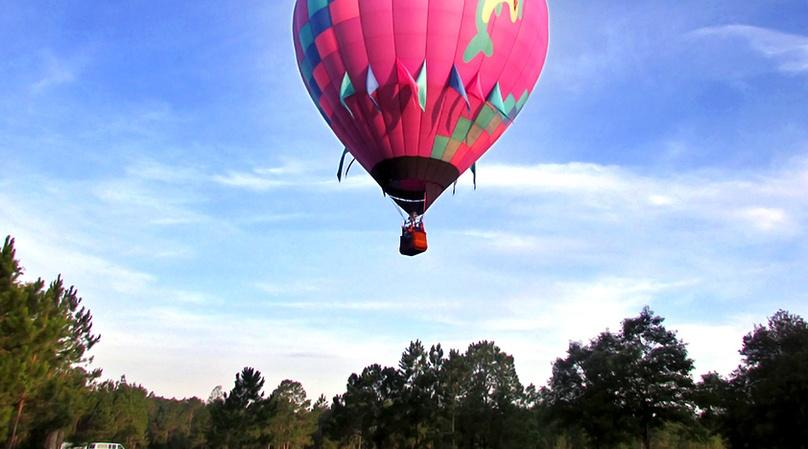 Central Florida Hot Air Balloon Group Flight