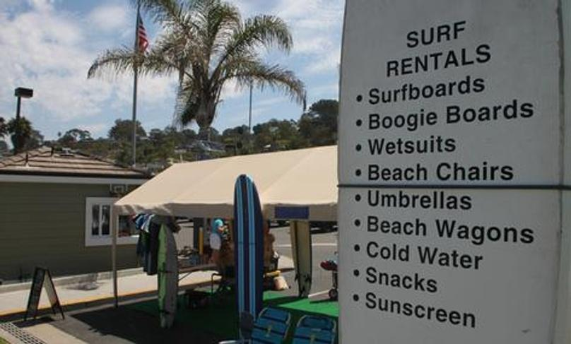 Full Day Bodyboard Rental in Del Mar