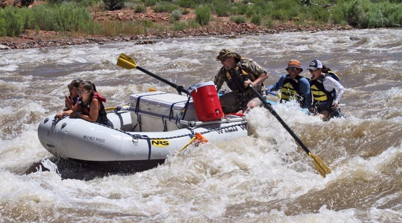 Half-Day Afternoon Rafting Trip in Moab