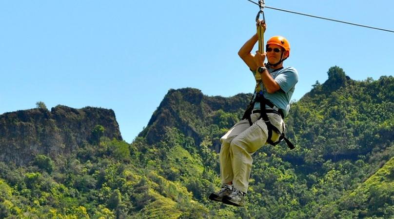 Lihue Combo Zipline Adventure