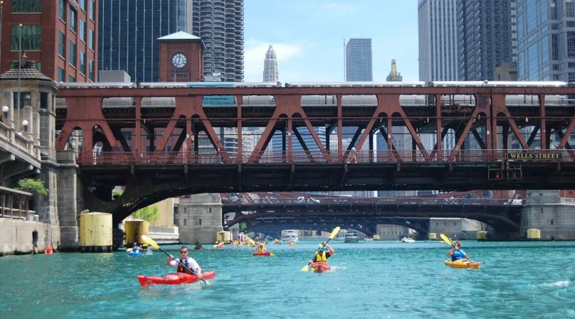 Lake Michigan Learn to Kayak Tour
