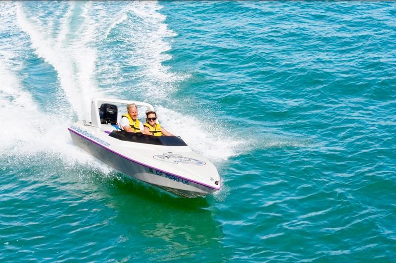 Charleston Speed Boat Adventure Tour