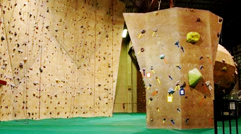 Miami Private Indoor Rock Climbing Class