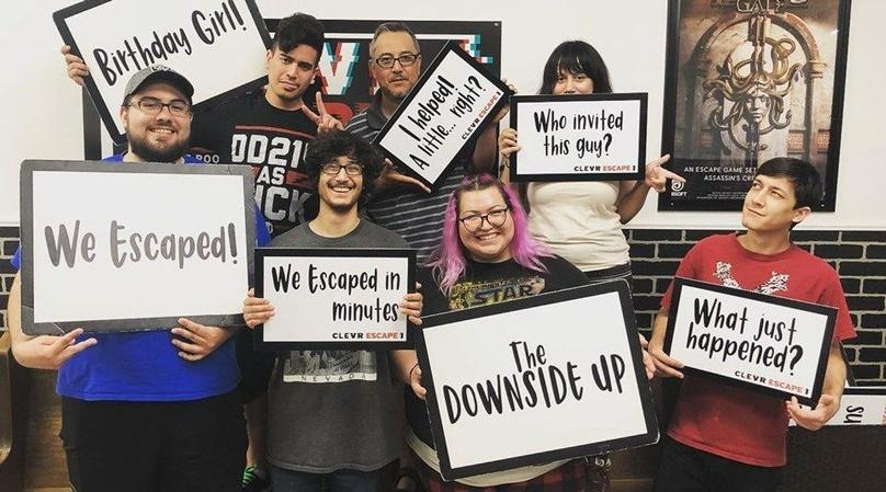 Downside Up Escape Game in Tulare