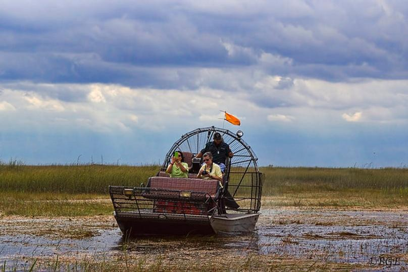 Private VIP Airboat Ride on Lake Jessup