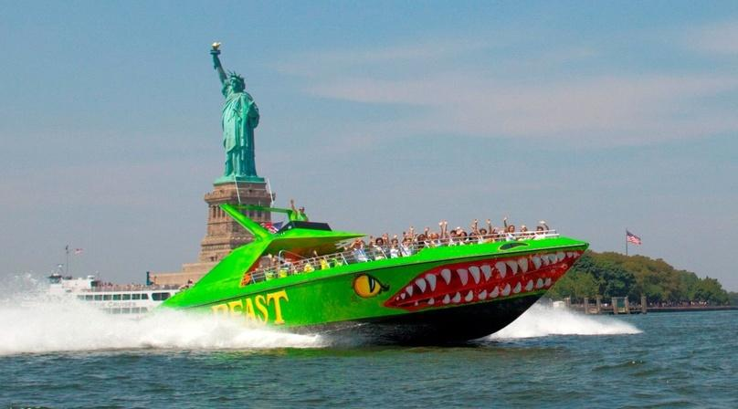 New York City Speedboat Experience