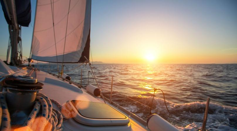 Private Couple Sunset Sailing Tour in San Diego