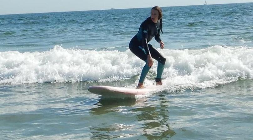 Spring and Fall Surf Lesson